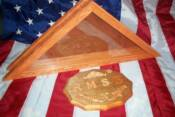 The Colonial burial flag case