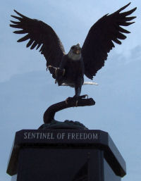 Sentinel of Freedom statue